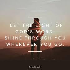 Let God S Light Shine Through You