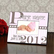 baby girl photo frames personalised personalized color picture frame p