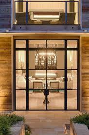 steel framed doors