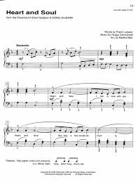 Free sheet music 148 000+ free sheet music. Heart And Soul Piano Sheet Music