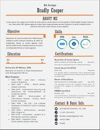 Aloha One Page Infographic Resume Template Resume Templates