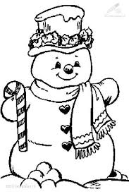 Small Picture 70 best Coloring Snowmen images on Pinterest Adult coloring