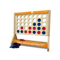 Giant Fast Four Game with <b>4 color</b> logo $108.75