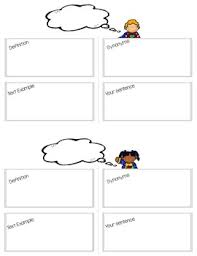 Frayer Frames Literary Terms Frayer Model Vocabulary Frames For 6th Grade Ela