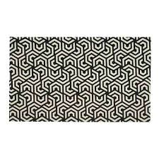 black and white area rugs colonial black white 2 ft x 5 ft indoor outdoor runner black and white area rugs