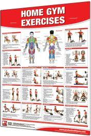 Multi Station Home Gym Exercise Chart
