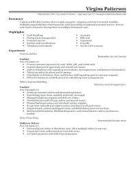 Cashier Resume Example Resume Bank