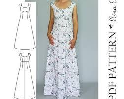 Dress Patterns For Women Custom Womens Dress Pattern Dress Sewing Pattern Dress PDF Etsy