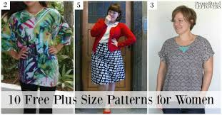 Plus Size Skirt Patterns Cool 48 Free Plus Size Patterns For Women