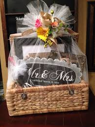 best 25 wedding gift baskets ideas on pinterest bridal shower What Is A Good Wedding Gift For Bride wedding gift basket filed with personalized gifts made with my silhouette wrapped with tulle and · bridal gift wrapping ideasbridal what is a good wedding gift for the bride from the groom
