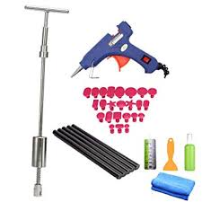 VTOLO Paintless Dent Repair Tools Kit - Grip PRO Slide Hammer with 24pcs Removal Pulling Amazon.com: