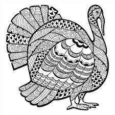 thanksgiving coloring pages already colored turkey for s free printable by sheet images ideas pa