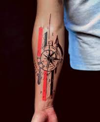 ταττου тату татуировка рука трэш полька тату морское тату