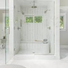 Walk in shower for two