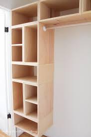 this brilliant how to build a diy closet organizer from scratch design