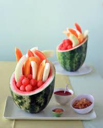 watermelon fruit salad bowl.  Watermelon Watermelon Basket Inside Fruit Salad Bowl