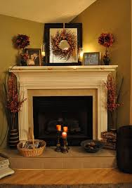fireplace mantel decorating ideas for home