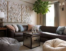 brown leather couches decorating ideas. Wonderful Brown How To Decorate Living Room With Brown Leather Sectional Sofas  Decorating Ideas On For Couches D