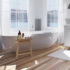 ove decors serenity 71 in white acrylic oval center drain freestanding bathtub
