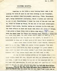 george lloyd wallis papers biographical essay about sikonyana magagula glw employed on dinedor
