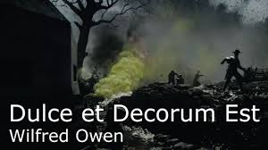 poetry reading wilfred owen s dulce et decorum est battlefield poetry reading wilfred owen s dulce et decorum est battlefield 1 footage poetry essay