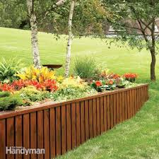 the simplest est back friendliest retaining wall in history