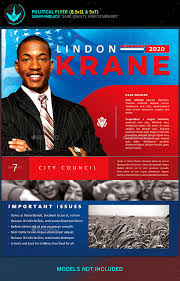 Free Election Campaign Flyer Template Political Candidate Flyer Template Free Election Campaign Flyer