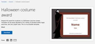 Flair Template Add Halloween Flair With Free Halloween Templates For Word