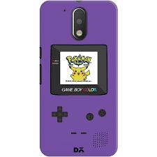 motorola g4. dailyobjects gameboy pokemon purple case for motorola moto g4/moto g4 plus