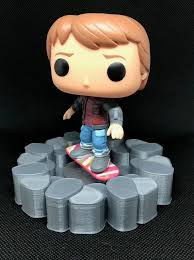 Hoverboard Display Stand Stunning Marty McFly Hoverboard Funko Pop Display Stand Back To The Etsy