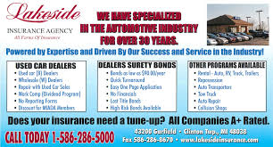 check out lakeside insurance s newest flyer highlighting our used car dealer program and dealer surety bonds the used car dealer section describes the