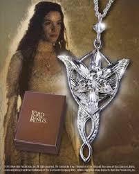 arwen evenstar sterling silver necklace