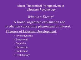 lifespan psychology power point lecture chapter module   7 major theoretical perspectives in lifespan