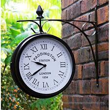 wmchiwan outdoor garden clock