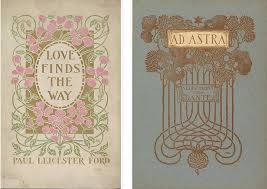 art nouveau book covers margaret neilson armstrong 1896 1919