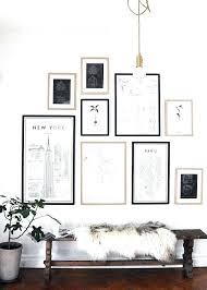 white framed wall art black frame wall art black white and gold gallery wall above entry white framed wall art  on white and gold framed wall art with white framed wall art black framed wall art abstract black white