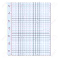 Notebook Sheet Template Notebook Paper Background Blank Education Design Notepad Empty