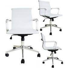 lexmod ribbed mid office. Homelala WHITE - Mid Back Executive Ribbed PU Leather Adjustable Office Task Chair Lexmod H