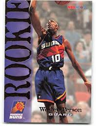 Amazon.com: 1994-95 Hoops #364 Wesley Person RC Rookie Phoenix Suns  Basketball NBA: Collectibles & Fine Art
