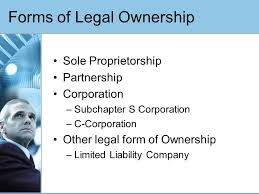 forms of ownership a complete discussion of forms of ownership ppt video