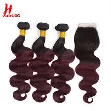 <b>HairUGo Peruvian Hair Bundles</b> Body Wave Bundles Honey Blonde ...
