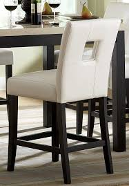 counter high chairs throughout homelegance archstone s1 height chair white 3270 24s1w remodel 4
