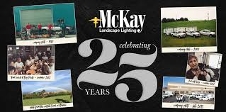 mckay landscape lighting. image may contain 1 person smiling text mckay landscape lighting o