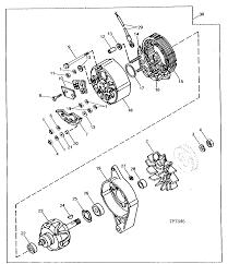 610b backhoe loader alternator regulator and charging system