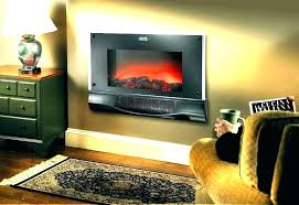 best wall mounted fireplace heater attractive mount electric in 9