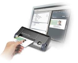 Card Scanner Worldcard Office The Smallest Business Card Scanner On The Market