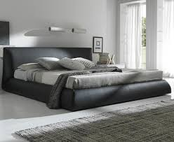 Calabria Brown Upholstered Italian Bed King Size