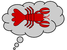 "consider the lobster"" by david foster wallace univ blog ""lobster "" image made by me"