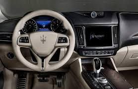 2018 maserati levante changes.  changes 2018 maserati levante granlusso steering wheel dashboard and touchscreen  display for maserati levante changes