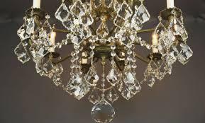 48 light 48 s antique french brass chandelier refurbished using